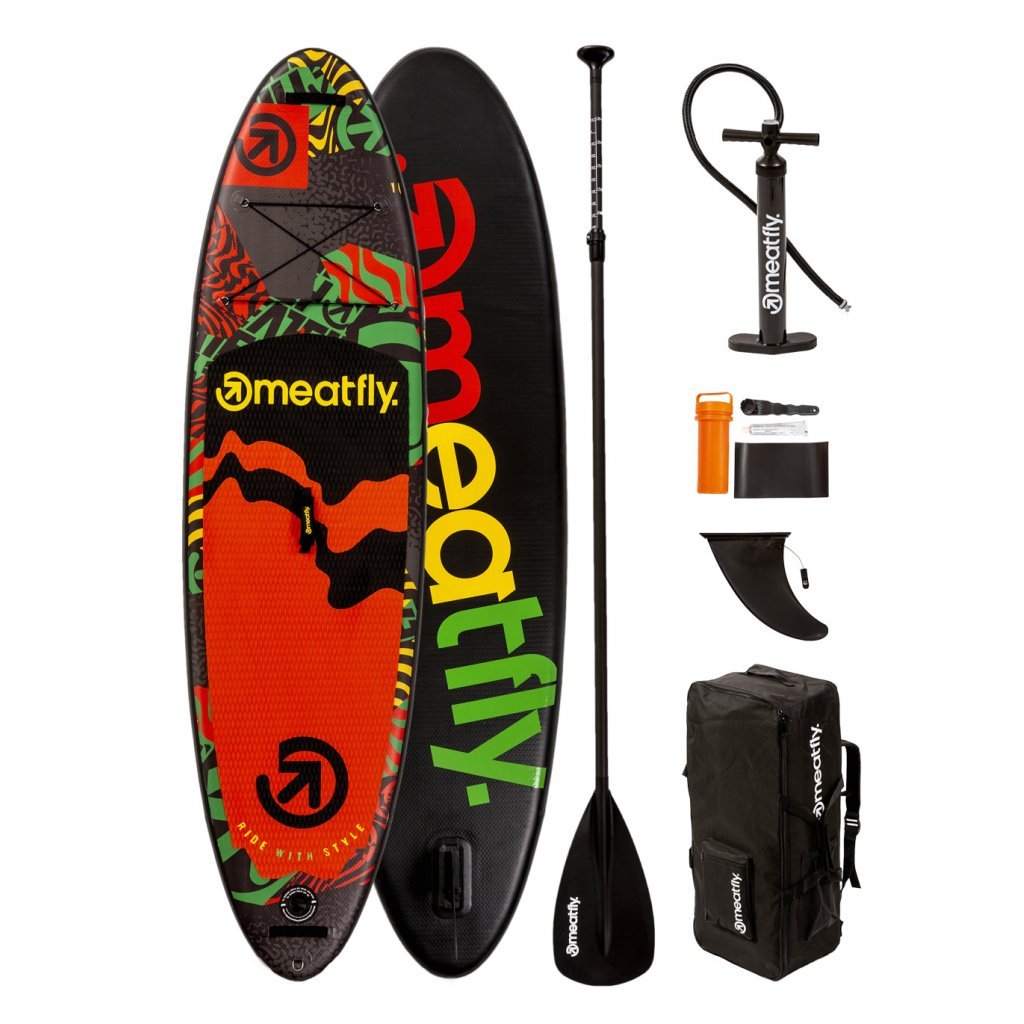 "BAZAR - Paddleboard Meatfly Sweep 10""x32""x5,9"""